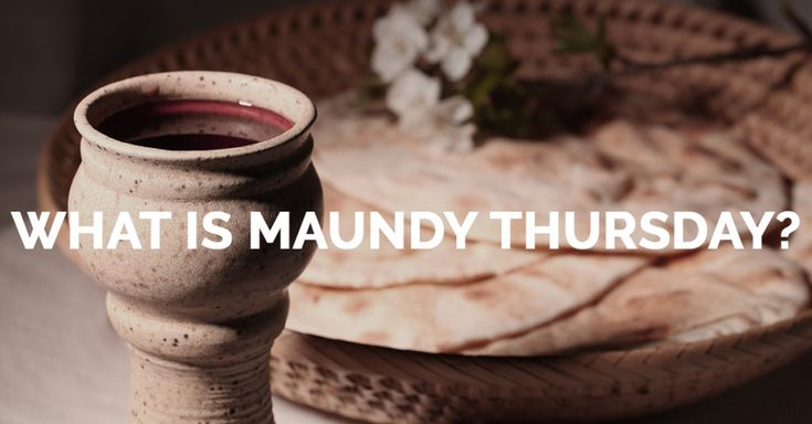 "Maundy Thursday is the fifth day of Holy Week leading up to Easter, which remembers the Last Supper with Jesus and His disciples. We call this event the ""Last Supper"" because it is one of Jesus' final meals with His disciples before He is crucified. They had gathered for Passover Supper, which set an important context for what Jesus did at the Last Supper."