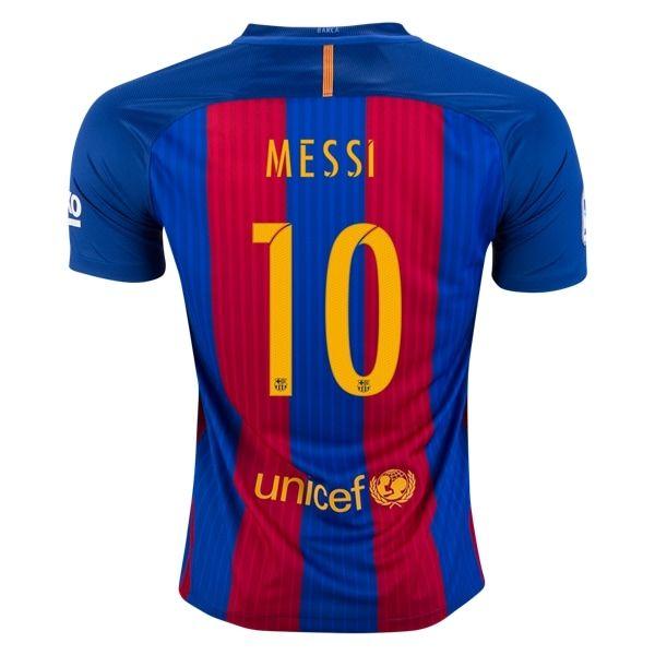 Nike Lionel Messi Barcelona Home Jersey 16/17 - No Sponsor