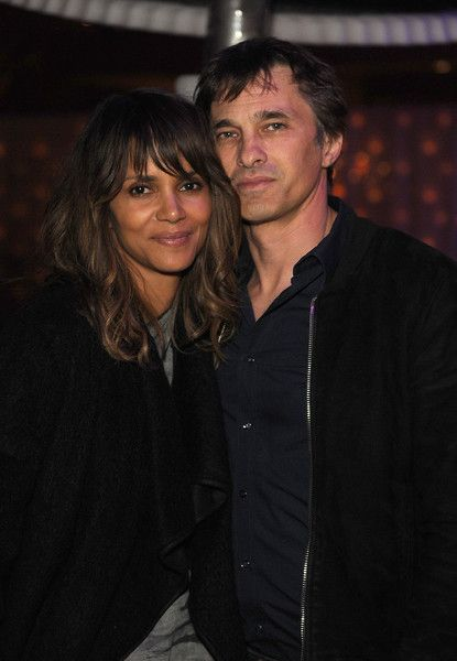 Halle and hubby Olivier
