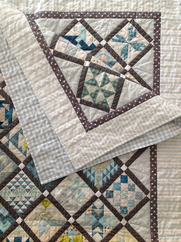 A big quilting project comes to a close: my Farmer's Wife quilt. Someone asked me the other day how long it took me. I said I didn't know but I guessed it could be a whole year. Now, I have looked ...
