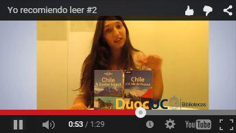"""¡Yo recomiendo leer!  """"Daniela de la Cerrera Administración Turística"""" https://www.youtube.com/watch?v=bQhRTRdeUWk"""