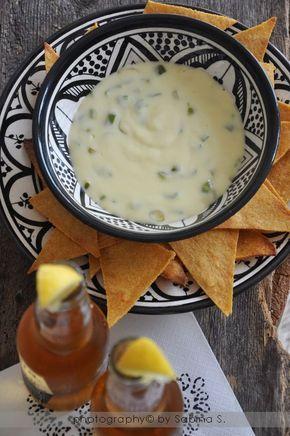 Salsa messicana al formaggio per nachos _ Due bionde in cucina