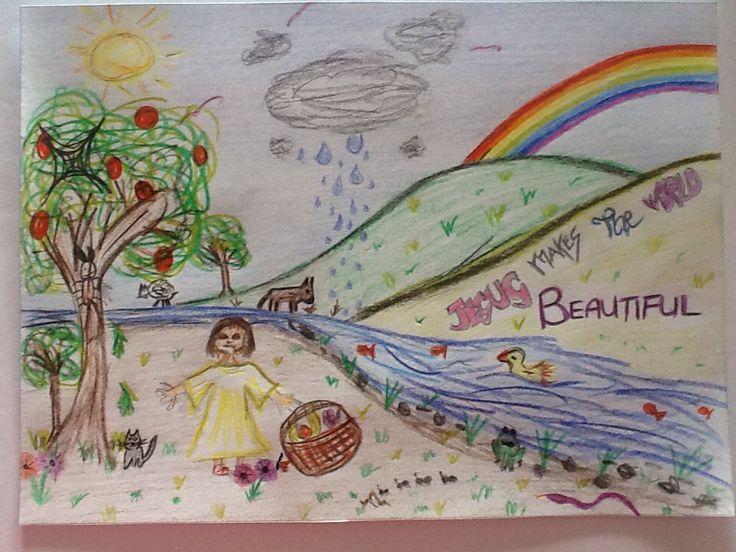 Drawn a few years ago for a school celebration