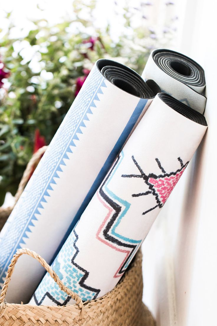Printed Yoga Mats.  New Paradise Collection.  Yoga Mats Designed To Add Inspiration To Your Practice.  Yoga Mats  Sydney Yoga Mats  Online Yoga Mats