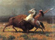 The Last of the Buffalo II  by Albert Bierstadt