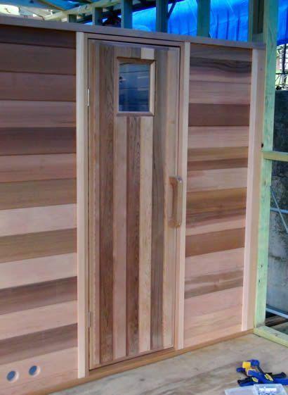 Wood Fired Ukko 2x2m Log Sauna