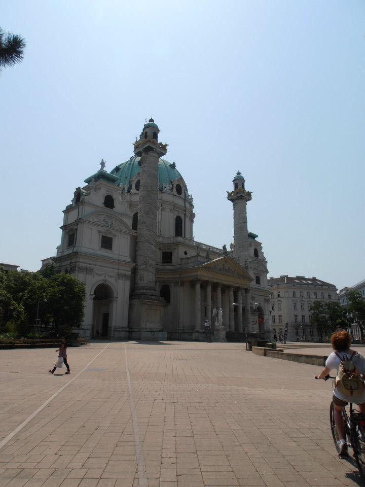 Sight seeing in Vienna