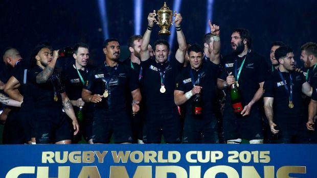 Rugby World Cup 2015: All Blacks receive Webb Ellis trophy after beating Wallabies | Stuff.co.nz
