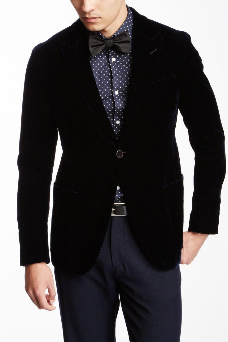 Solid Velvet Jacket on HauteLook