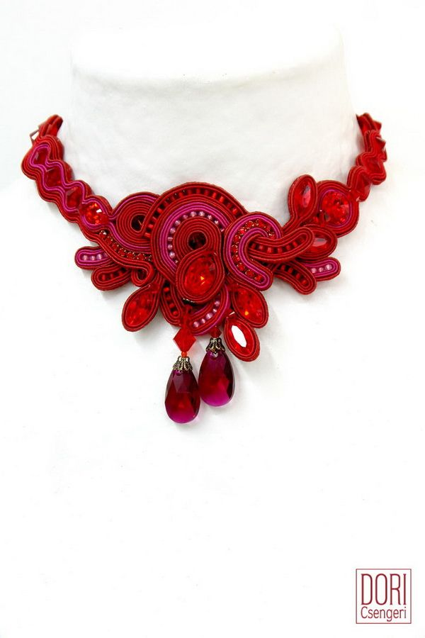 Scandal choker perfect for your wow effect... #doricsengeri #red #accessories #choker #jewelry