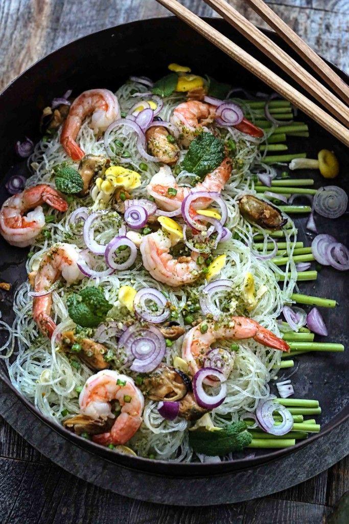 Thai vermicelli salad à la San Francisco (Yum Wun Sen) from circahappy.com