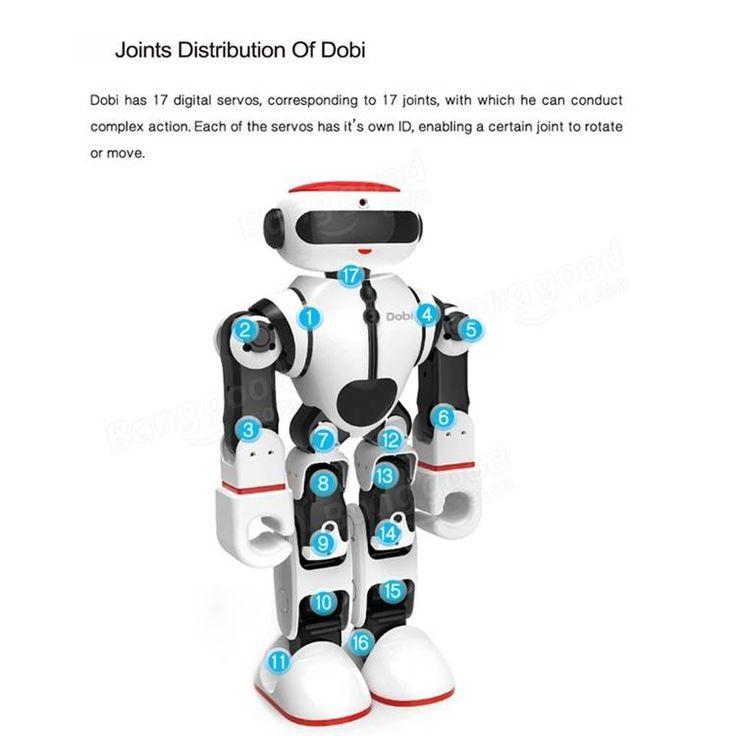 Wltoys F8 Dobi Intelligent Humanoid Voice Control Multifunction RC Robot