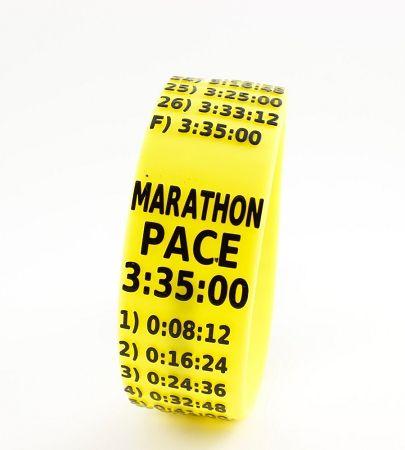 Boston qualifying time paceband