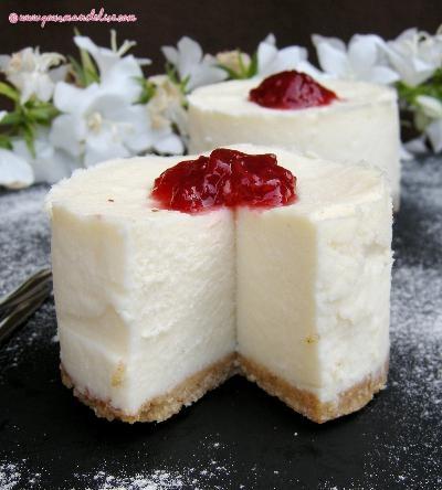 Cheesecake sans cuisson au mascarpone