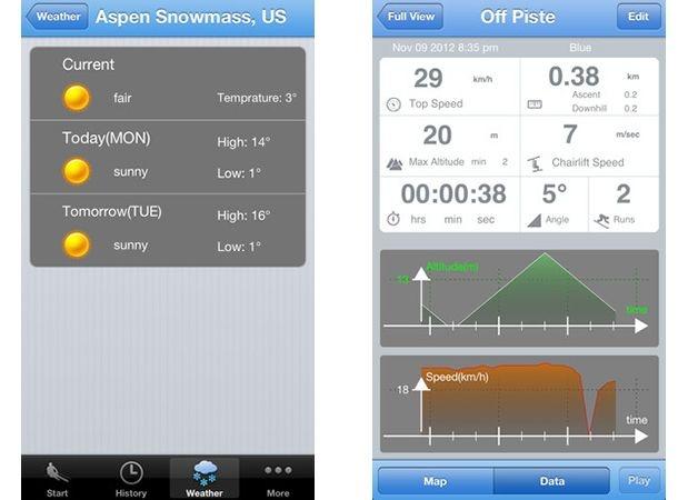 L'inverno è alle porte e gli appassionati di sci pregustano già le prime nevicate. Se ti riconosci nell'identikit, e quando vai sulle piste non riesci a separarti dal tuo #iPhone, installa #SkiSpeed e saprai tutto quello che serve per affrontare la prossima discesa.