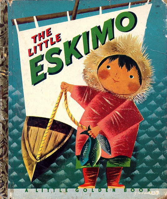 The Little Eskimo    Little Golden Books, 1952. By Leonard Weisgard.