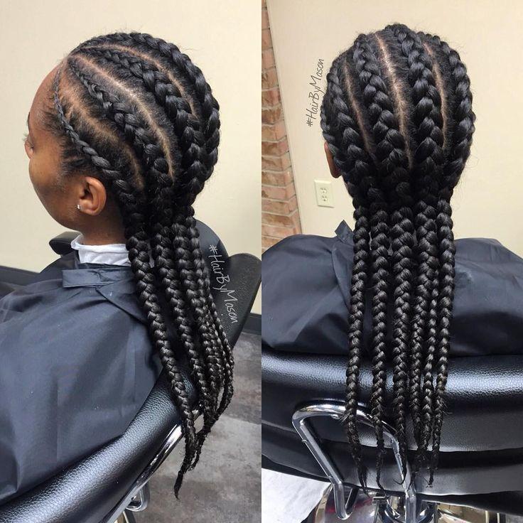 Straight backs  | #braids #frenchbraids #straightbacks #protectivestyles #hairbymason