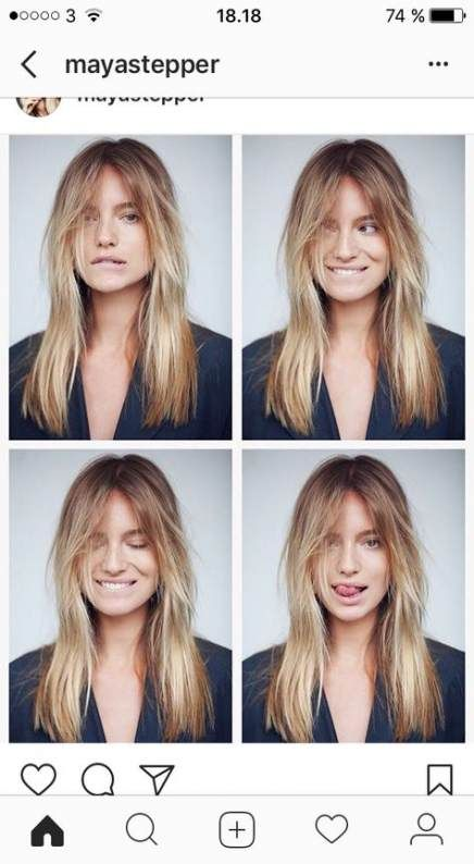 50+ Trendy hair long layers fringe hairstyles