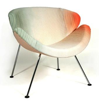orange slice, Pierre Paulin, Artifort, new upholstery by STRIKKS  www.strikks.nl