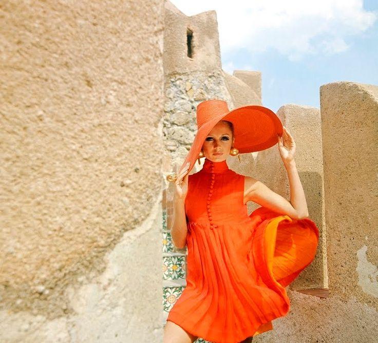 Vogue 1967.   Love the orange