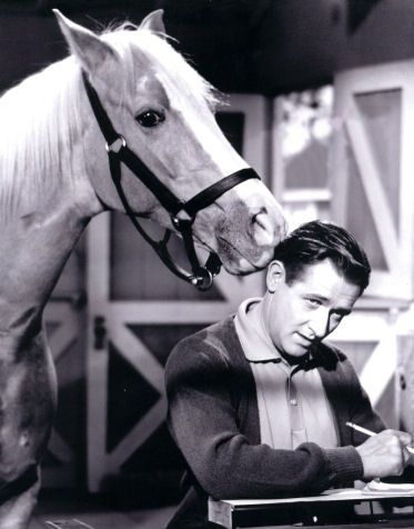 It makes me smile to watch re-runs on Sunday morning of Mr. Ed on TV! #WhyILoveMe @Troxel Helmets