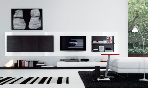 """Jesse """"Regolo"""" : Modern TV Wall Units and Media Centers"""