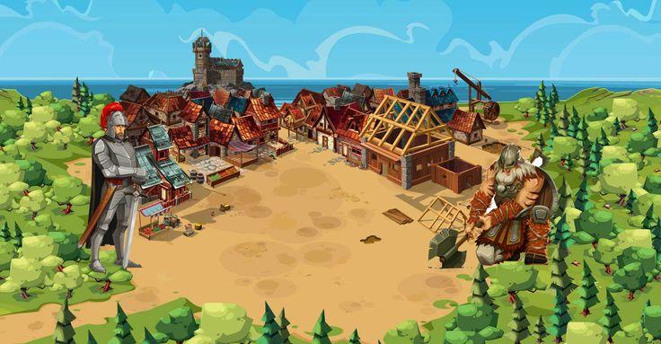 لعبة الامبراطورية Goodgame  Empire-Game  لعبة Goodgame-Empire