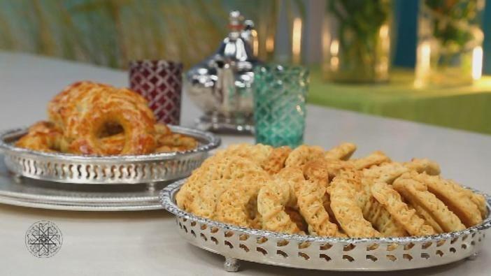 Marokkaanse anijskoeken van #Choumicha. Ideaal om op het #suikerfeest of bij de thee op te dienen. (23)