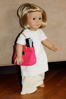 American Girl Doll: Purse, Money, Wallet, Passport, Checkbook: Dolls Stuff, American Dolls, Dolls Clothing, Cute Dolls, Big Purses, American Girl Dolls, Ag Dolls, Pretend Plays, American Girls Dolls