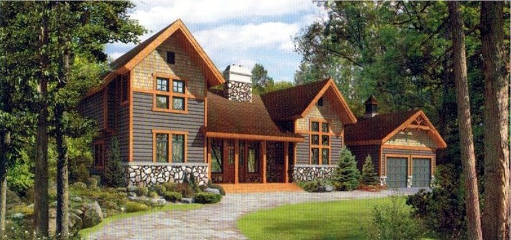Front view of the windecker for Viceroy home plans