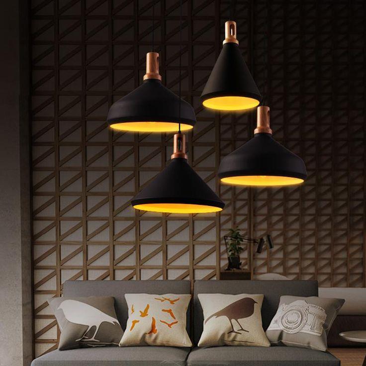 oak wood pendant lamp antique black industrial pendant lamp vintage rope pendant light ikea rustic
