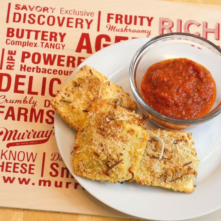 Toasted (Not Fried) Ravioli - Love Them Madly