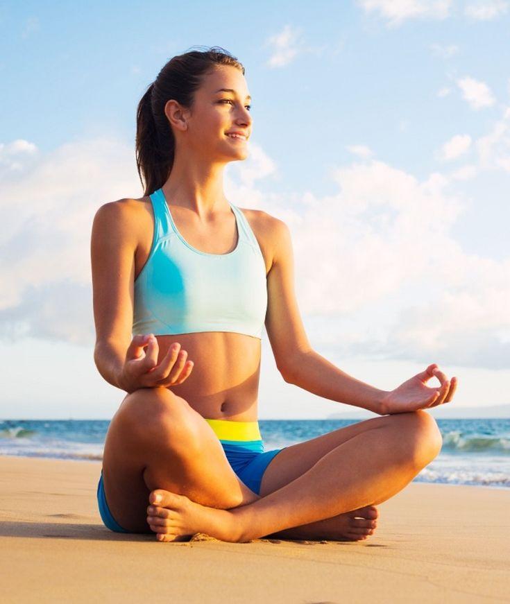 Йога для похудения медитация