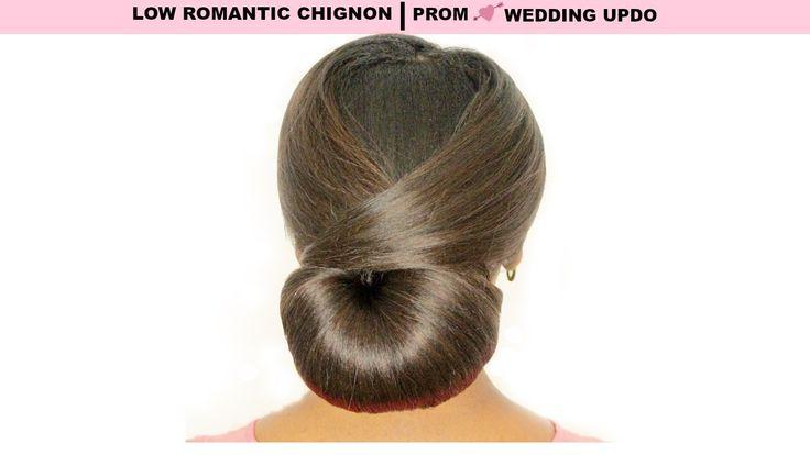 LOW  CHIGNON! PROM & WEDDING UPDO FOR LONG HAIRhttps://www.youtube.com/watch?v=U0P5HkKkcvc