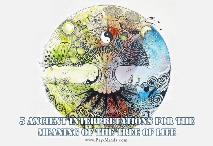 5 Ancient Interpretations for The Meaning of the Tree of Life - @psyminds17