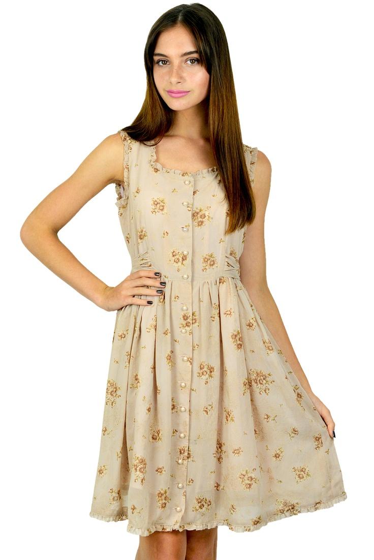 Oh Deer Boutique - Lillith Vintage Dress