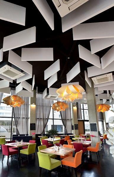 Les 25 meilleures id es concernant faux plafond acoustique for Rockfon faux plafond