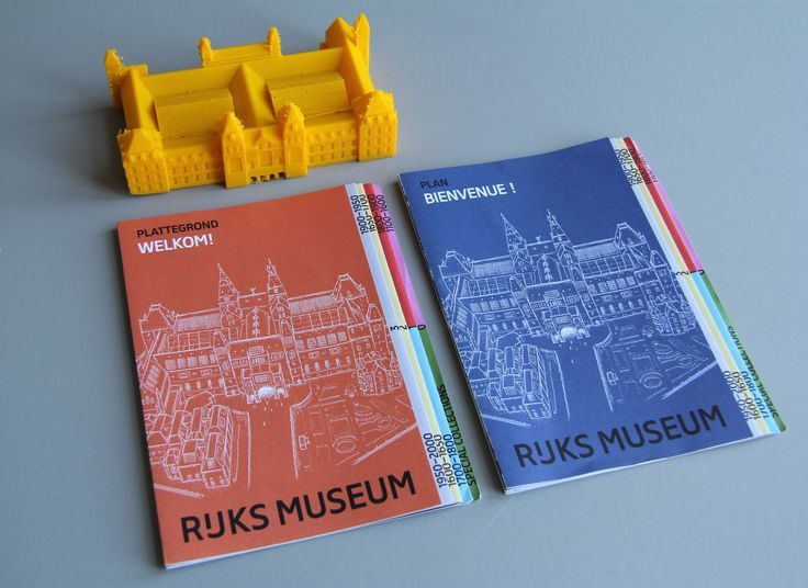 3D modeled and printed Rijksmuseum ( Amsterdam ) by Sylvain Tegroeg