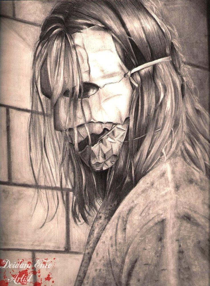 Rob Zombie/ Michael Myers-  Fan Art/Traditional Art/Drawings-by Deidaraemoartist-deviantART