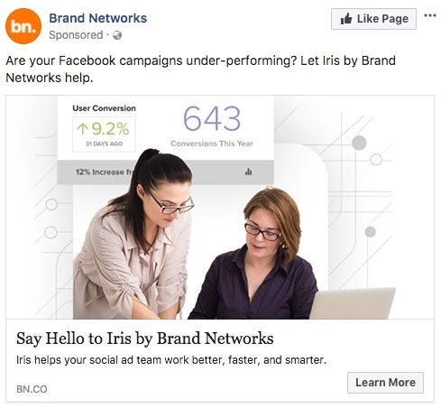 Facebook Ad for Are your Facebook Campaigns Under performing