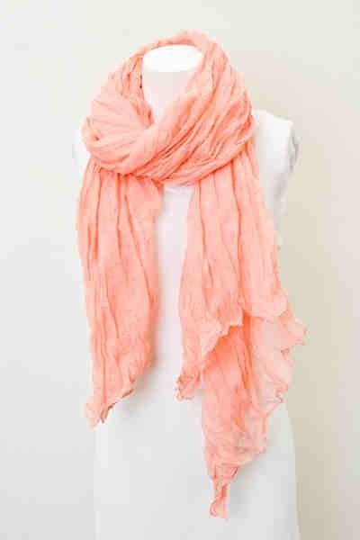 Peaches Scarf- $12    **Sold out**    Find more at our store on Facebook!: https://www.facebook.com/TwineandTulle