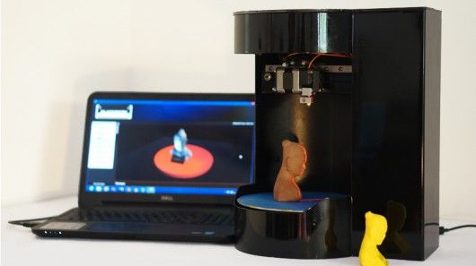 """3D printing may be one of the few technologies that actually holds a solid claim to the over-used adjectives """"disruptive"""" and """"world-changing,"""" but its bulky hardware and complicated operation still largely limits its appeal to a market of enthusiasts and experts. Blacksmith, a startup from Nanyang Technological University in Singapore, hopes to give 3D printing more mass market appeal with the Blacksmith Genesisa, a new all-in-one 3D printer, scanner, and copier that handles all of the…"""