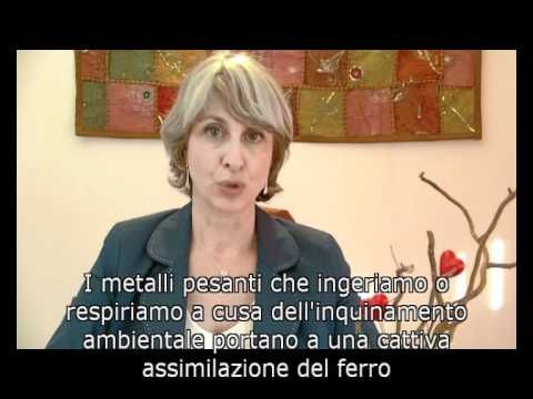 Anemia, mineralogramma, carenza ferro - Videopillole di Naturopatia - Si...