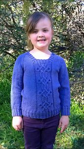 Join us in a KAL!! Due to cast on in October, choose between 3 patterns!  Little Taliesin Child knitting sweater pattern