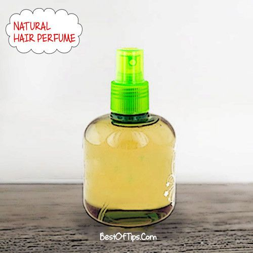 We all want to have hair that smells fresh and incredible.There's a simple old trick to spray your hair brush with your perfume before you brush.However, spritzing yourregular perfume on your hair isn't the best idea. Most perfumes contain high amounts of alcohol, which candry hair out and causedamage. So, here is a quick DIY...