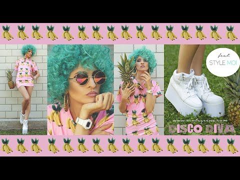 "Hello happy unicorns! Today I bring bananas and pineapples and a ""gimme a smile"" kind of look. Hit the play button, grab a banana and dance with me! Read mor..."