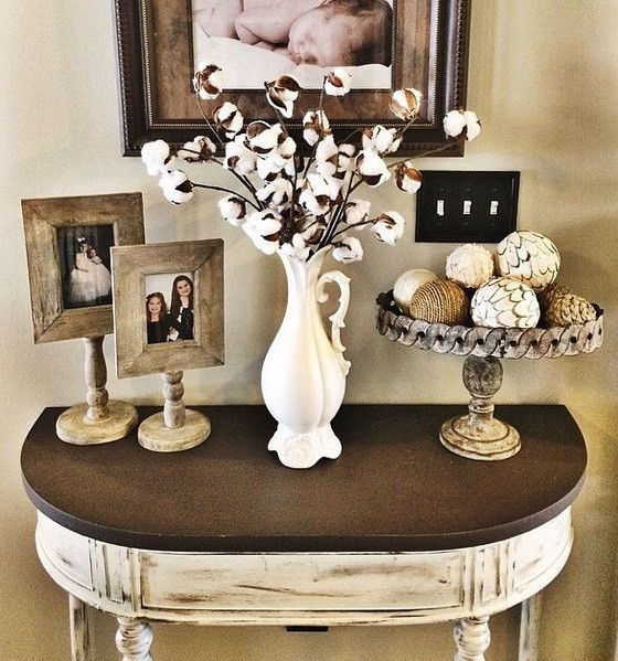 Best 25 cotton decor ideas on pinterest entrance decor for End table decorating tips
