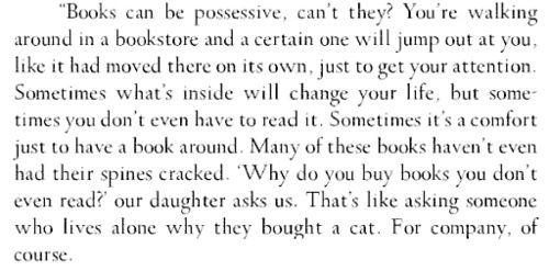 Sarah Addison Allen, The Sugar Queen. Love this book!
