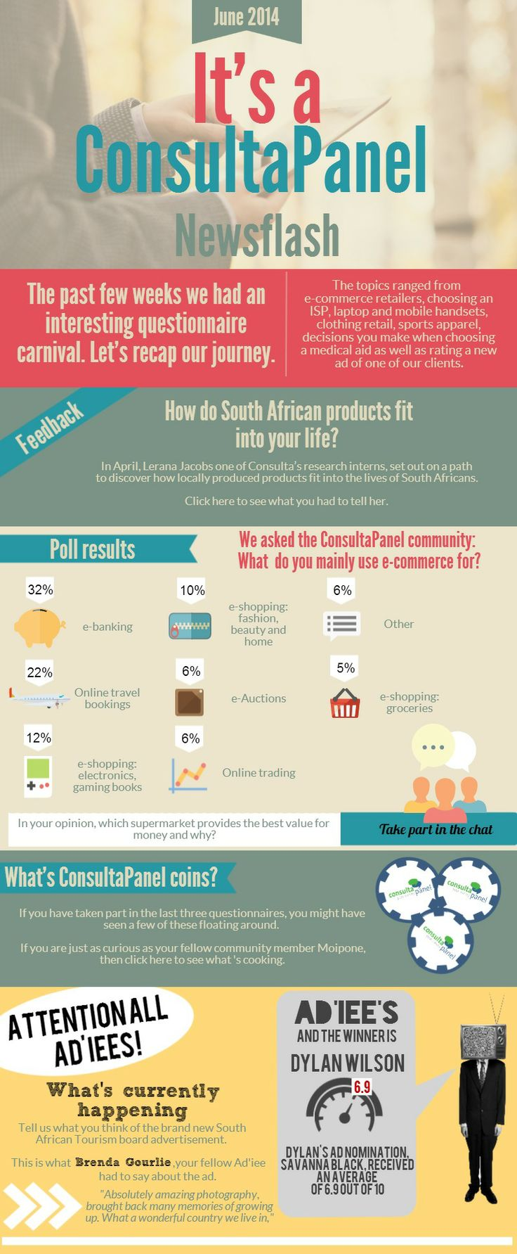 Check out our new Newsflash! http://www.consultapanel.co.za/newsletters/issue_27/issue%2027.html