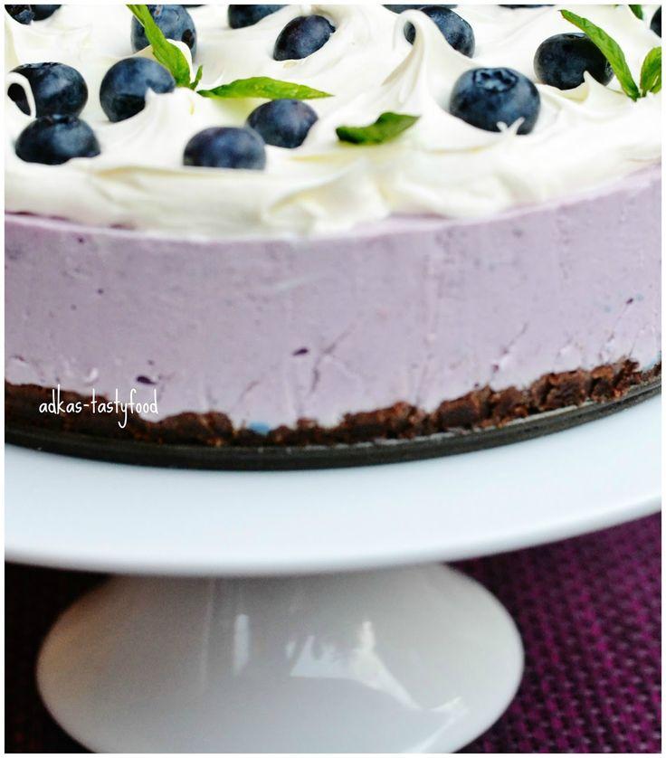 .. chute a vône mojej kuchyne...: Čučoriedková torta - nepečená